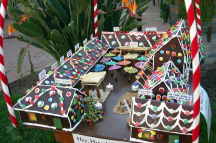 "The gingerbread house first became popular in Germany after the Brothers Grimm published ""Hansel and Gretel"" in the 19th century. Early German settlers brought the gingerbread house to the Americas and the tradition become more and more popular in North America, especially in the 20th century."